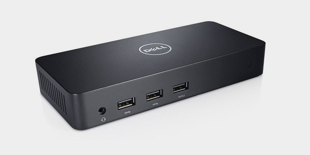 Dell USB 4K Ultra Docking Station with Triple Video (D3100)